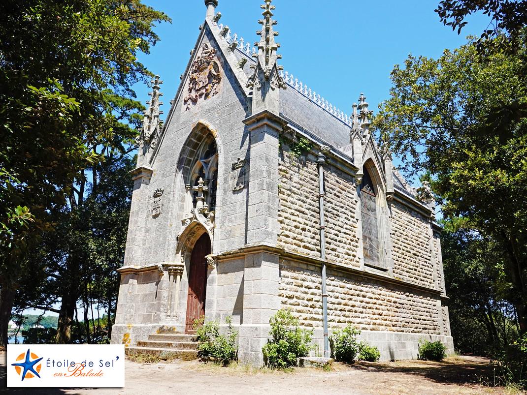 La chapelle de l'île de berder