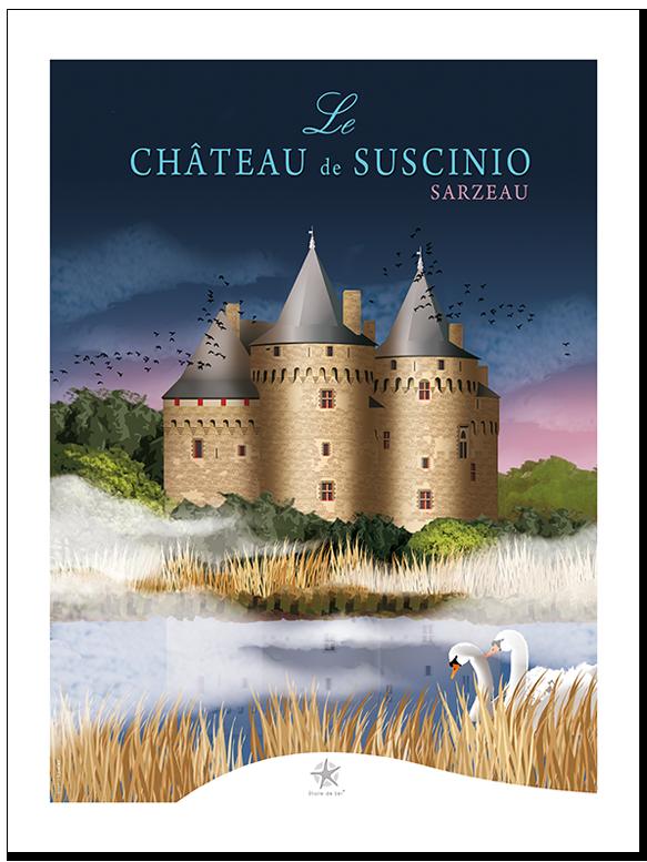 le château de suscinio à sarzeau  morbihan