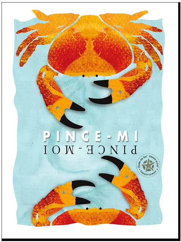 le crabe ou tourteau du morbihan