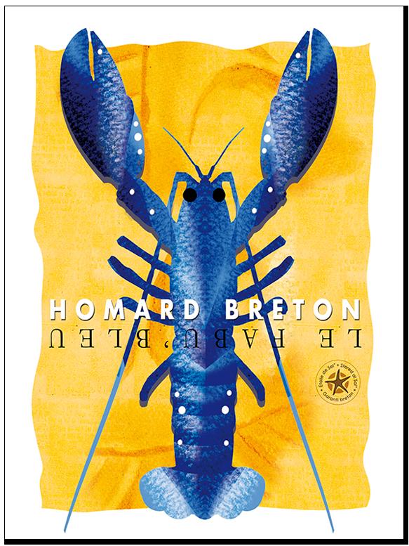 le homard bleu de Bretagne par étoile de sel