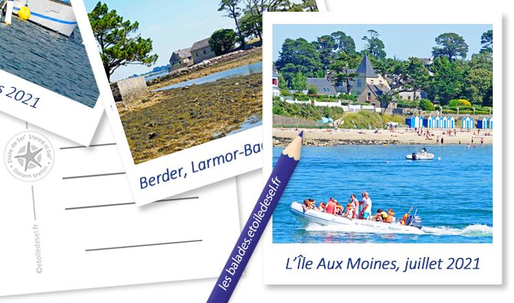 l'île aux moines dans le golfe du morbihan en Bretagne